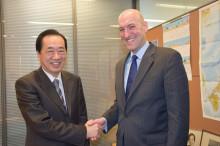 菅直人とヤツコ元NRC委員長