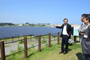 復興計画の中で導入された「奥松島『絆』ソーラーパーク」